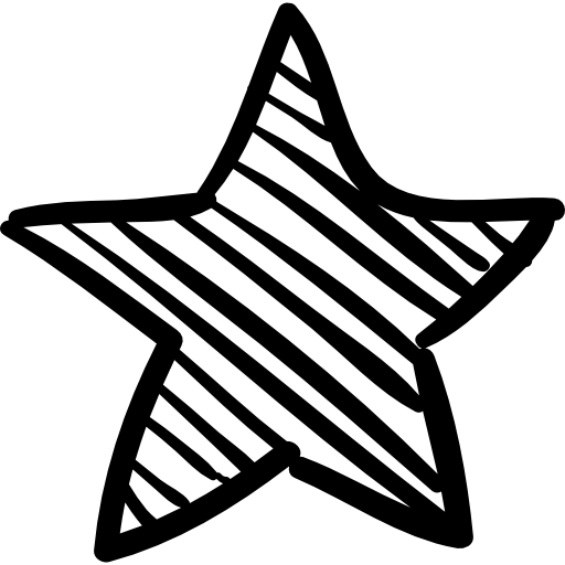 Favorites star sketch free. Stars vector png