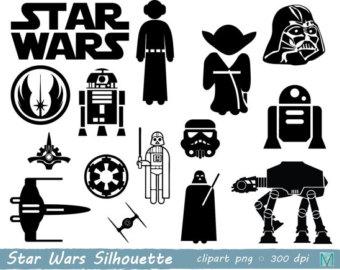 Star wars etsy clip. Starwars clipart