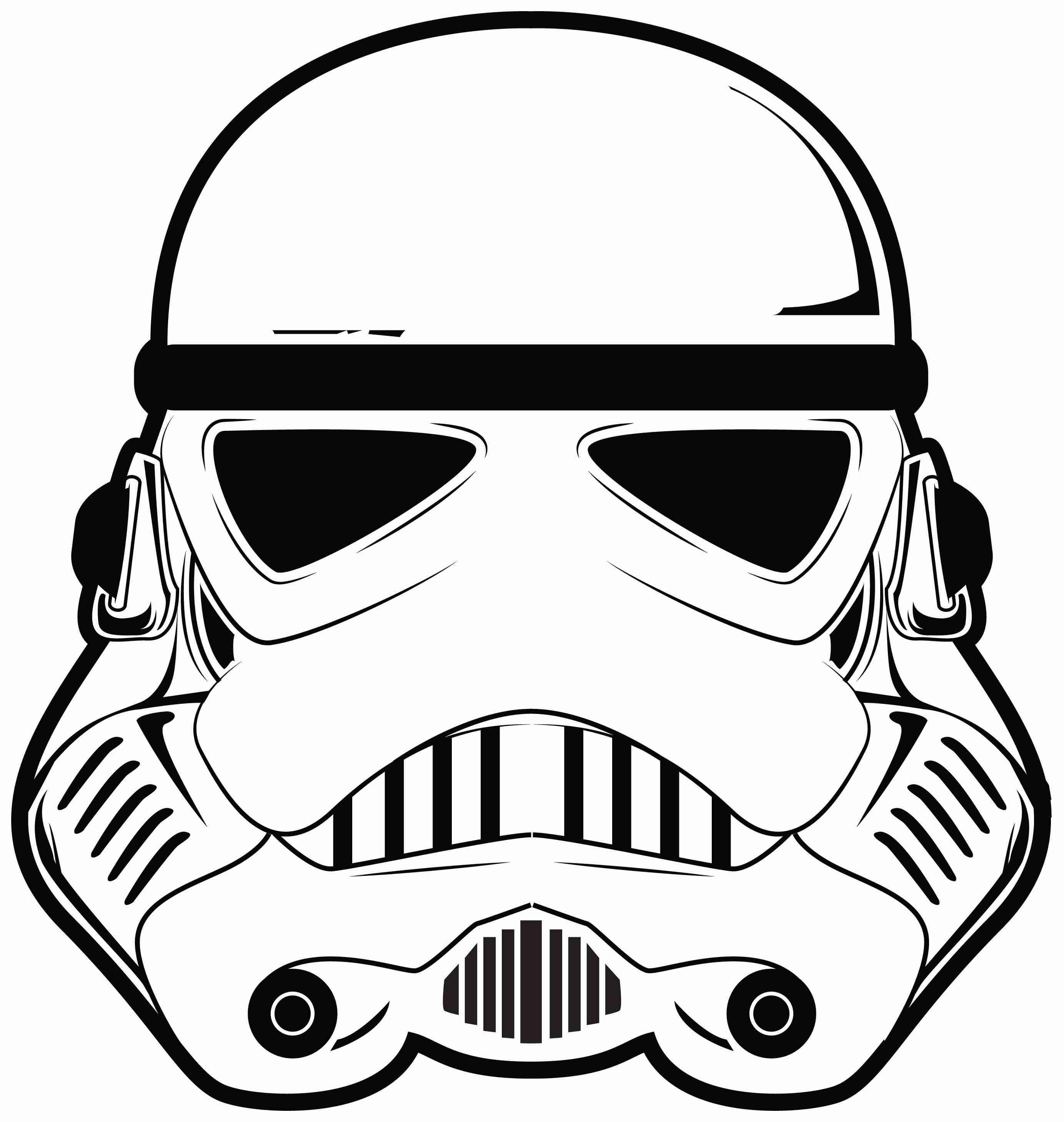 Star Wars Clipart Face Pencil And In Color Stuning Starwars Clip Art ...