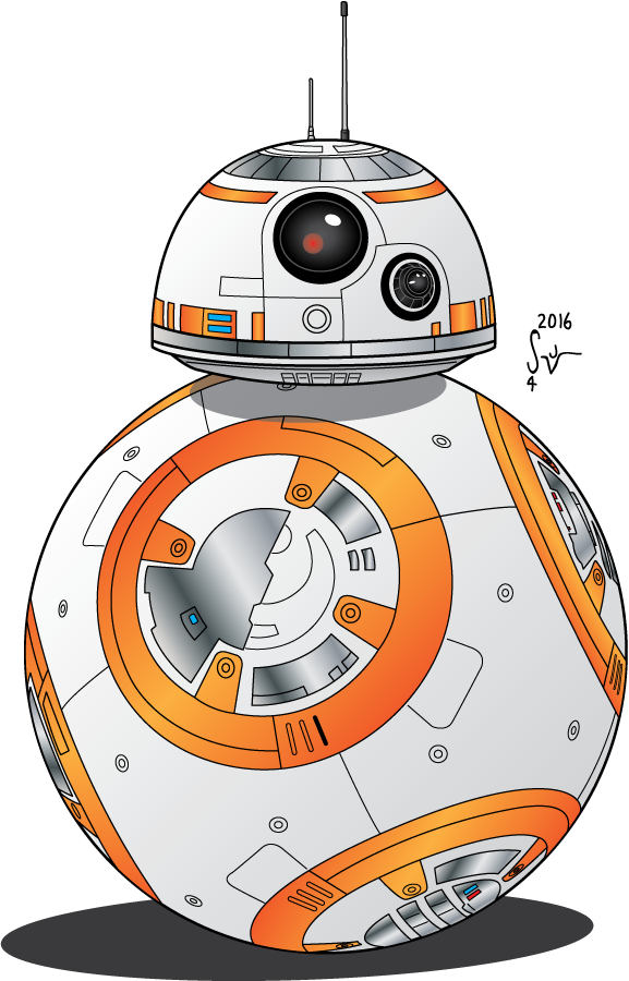 Starwars clipart bb8. Droid i e sequential