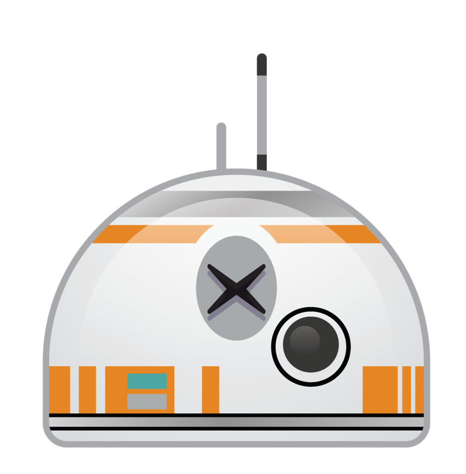 Star wars comes to. Starwars clipart bb8