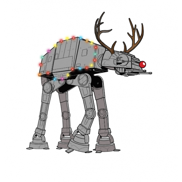 Starwars clipart christmas. Star wars clip art