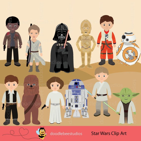 Starwars clipart cp30. Star wars clip art