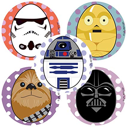 Starwars clipart easter. Amazon com smilemakers star