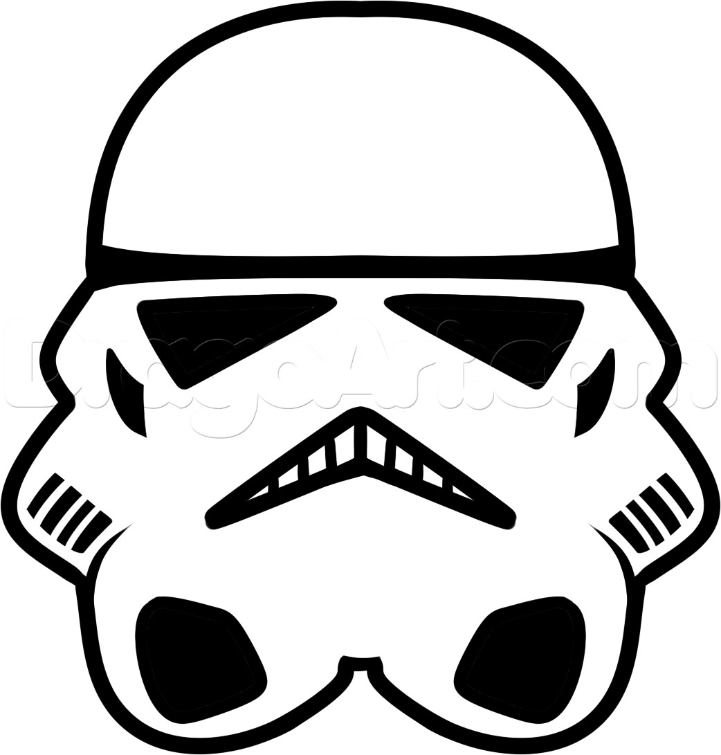 Star wars drawing art. Starwars clipart easy