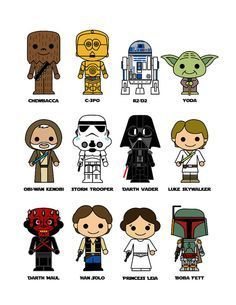 Starwars clipart easy. Drawn star wars drawings