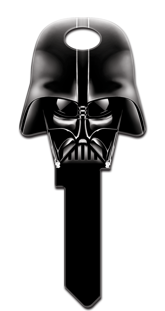 Mikes licensed keys datasphere. Starwars clipart head darth vader