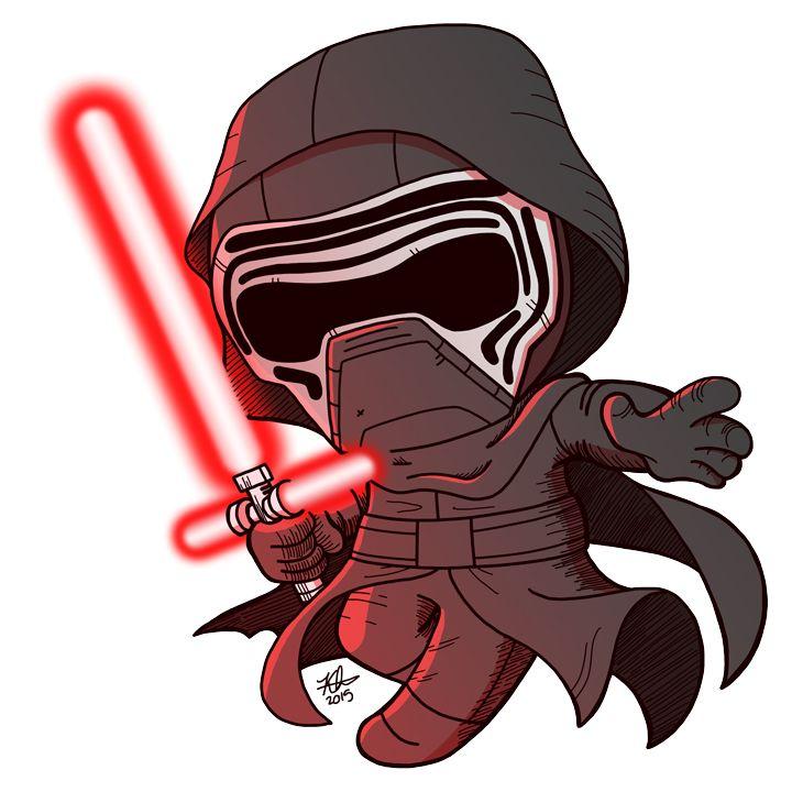 Starwars clipart kylo ren. Download chibi stormtrooper star
