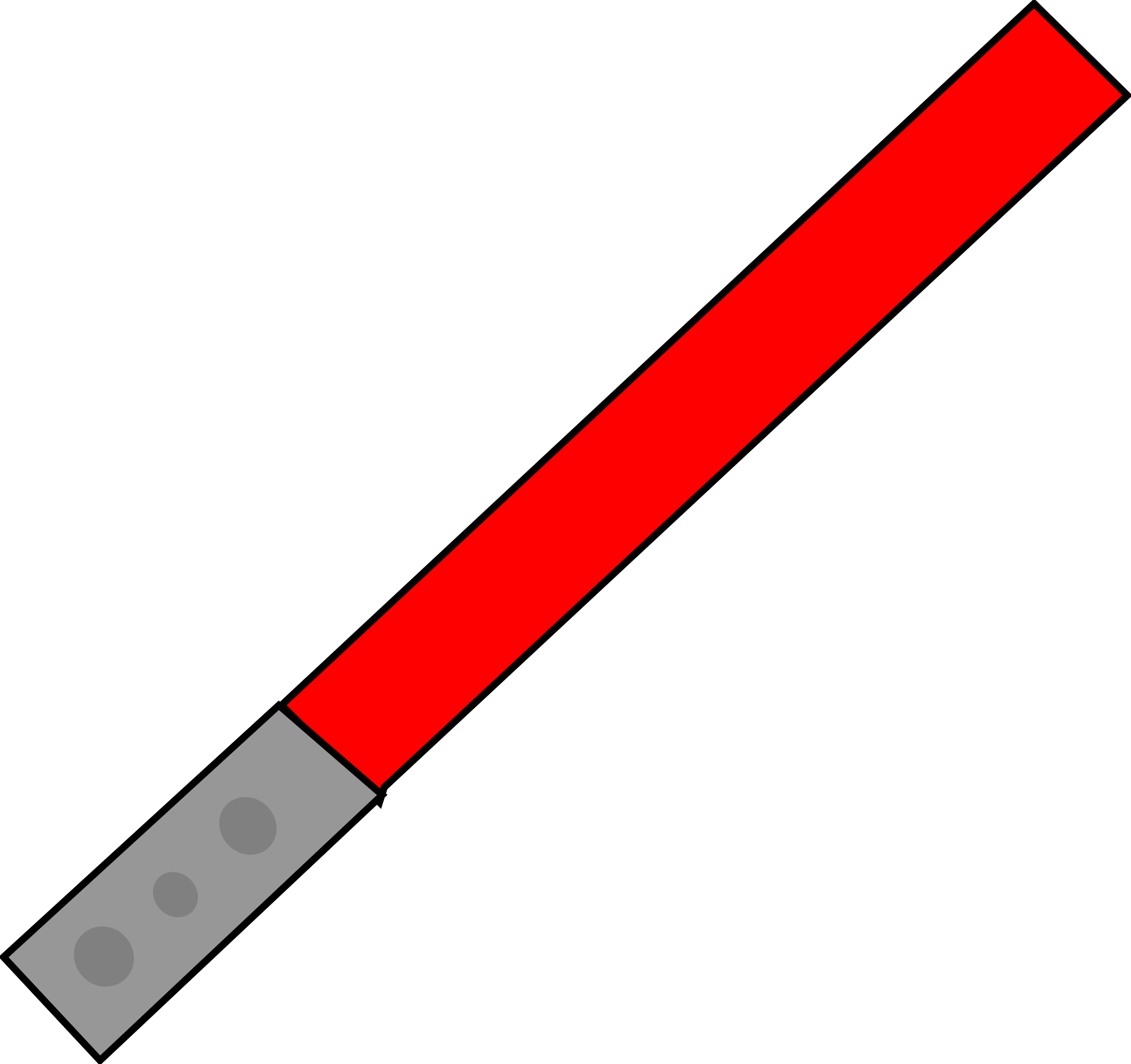 Starwars clipart light saber. Red big image png