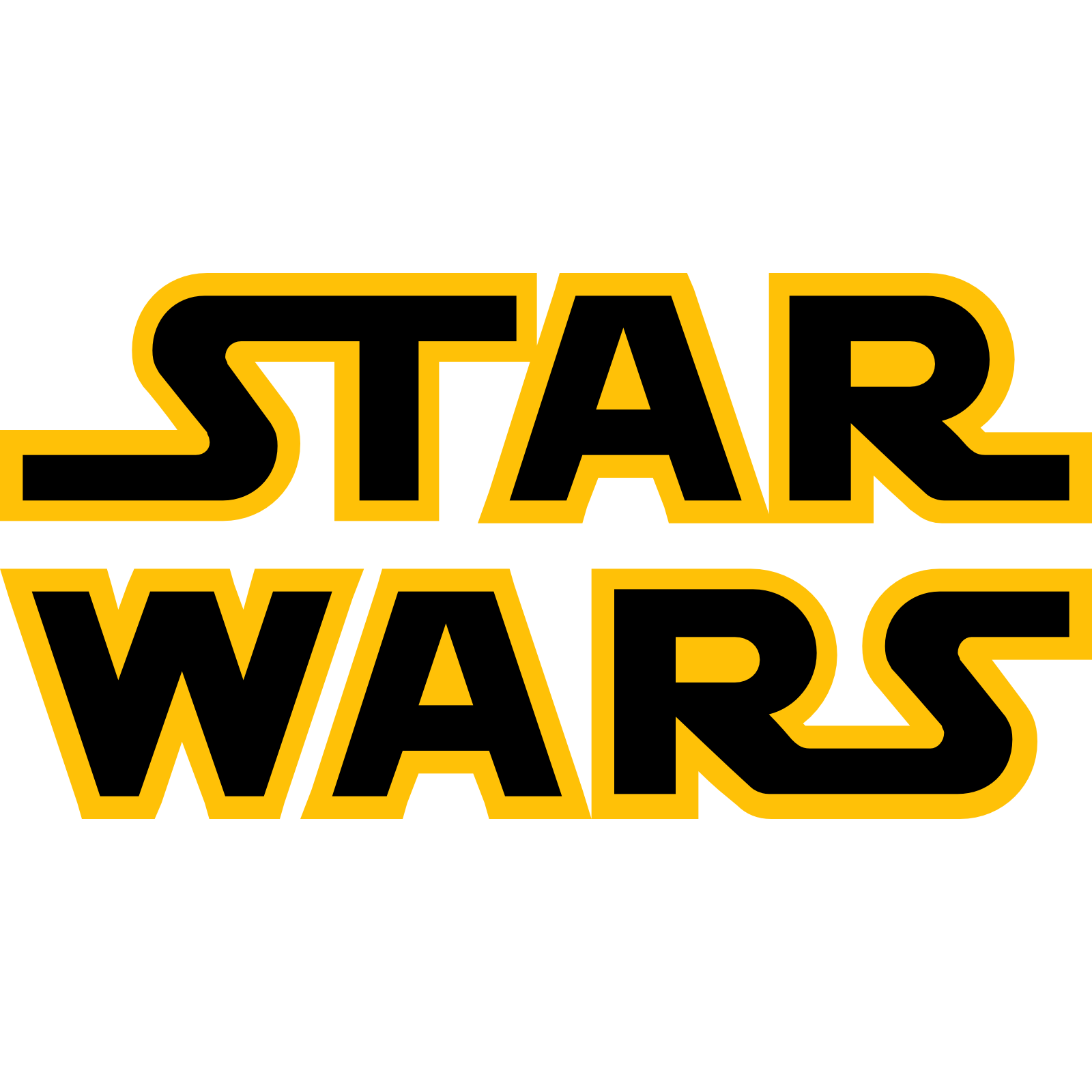 Png star wars transparent. Starwars clipart logo