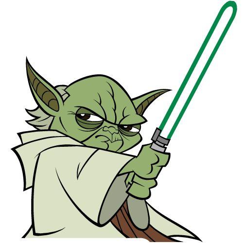 Starwars clipart master yoda. Star wars free clip