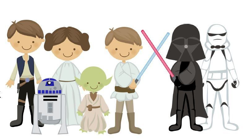 Simple ideas for family. Starwars clipart may the fourth be with you