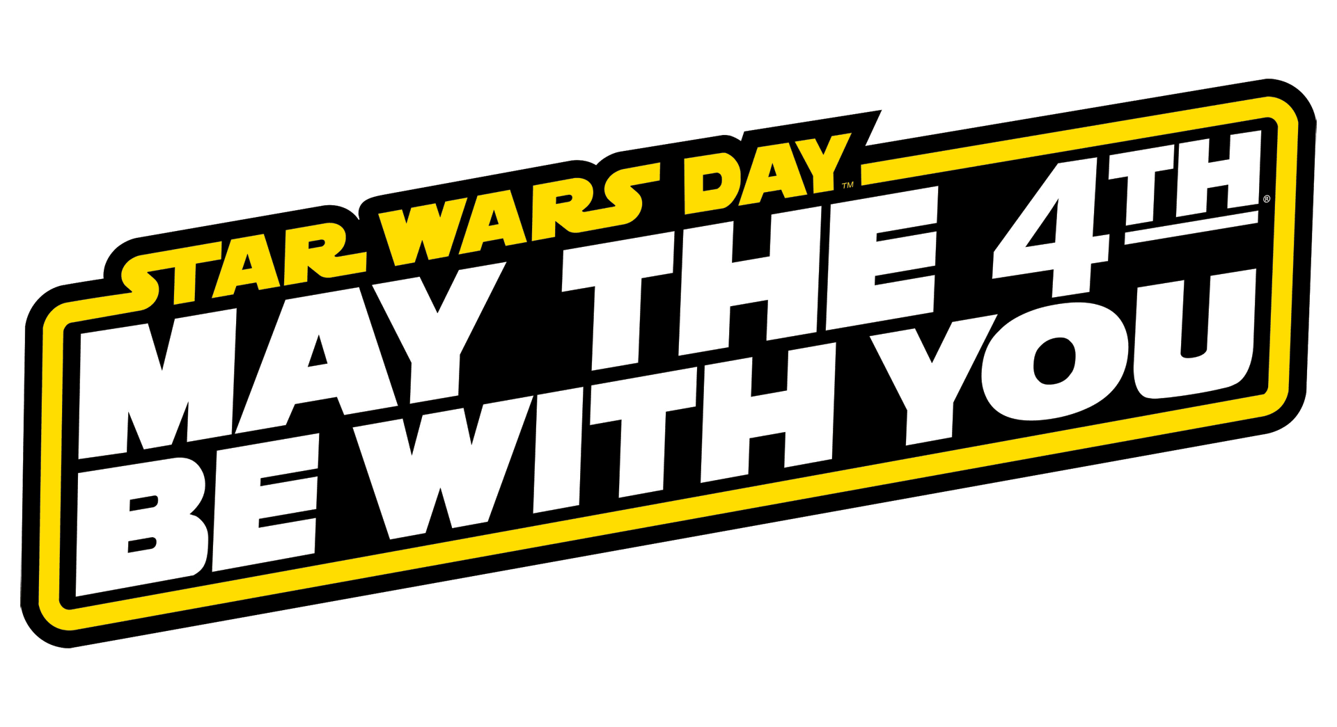 Starwars clipart may the fourth be with you. Happy star wars day
