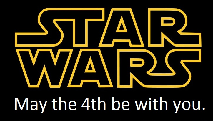 Starwars clipart may the fourth be with you. Star wars day th