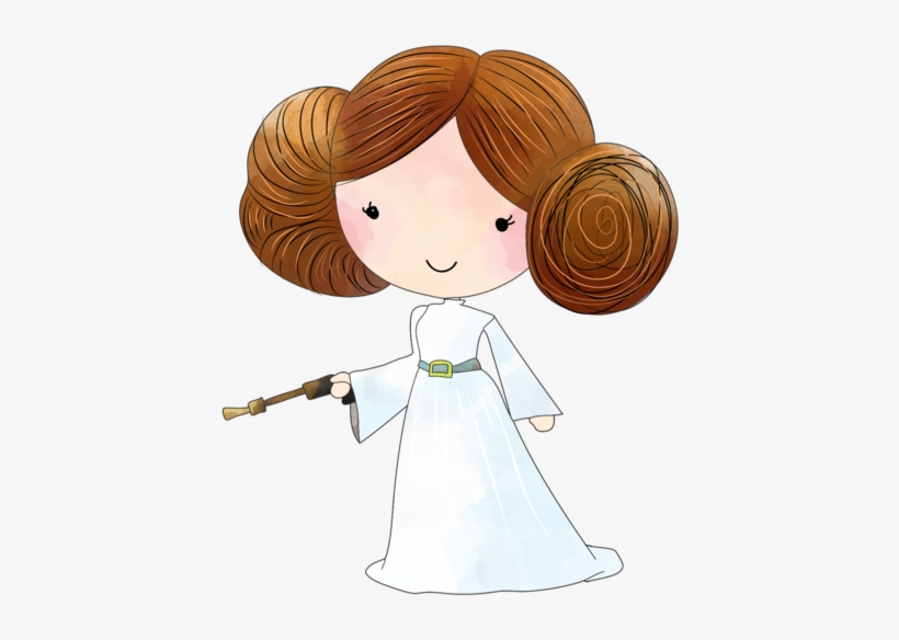Star wars . Starwars clipart princess leia