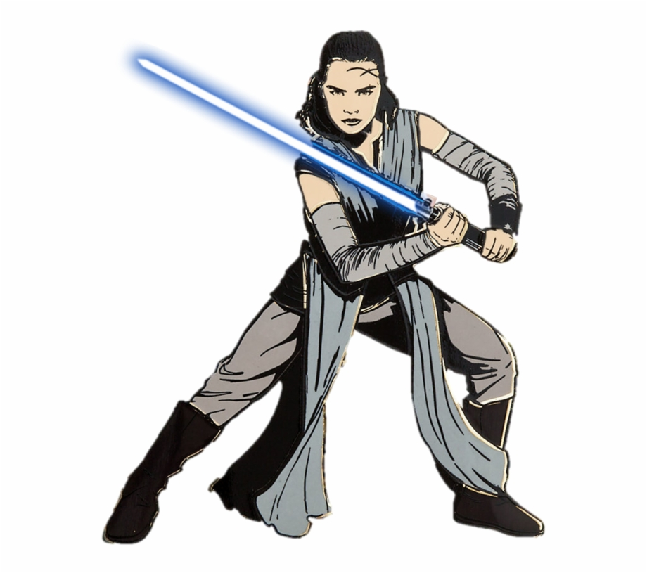 Starwars clipart rey. Star wars cartoon last