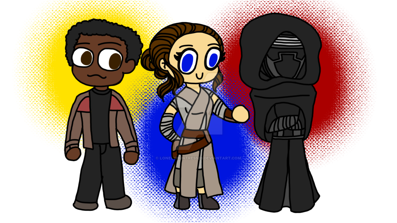 Starwars clipart the force awakens. Star wars chibis by