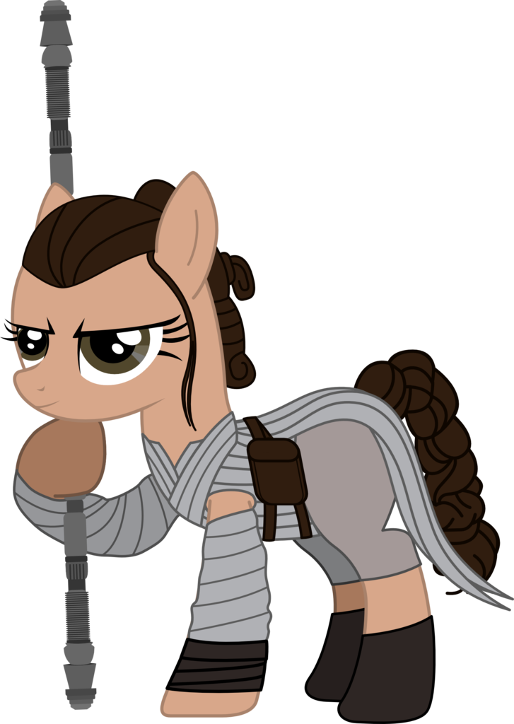 artist sonofaskywalker ponified. Starwars clipart the force awakens