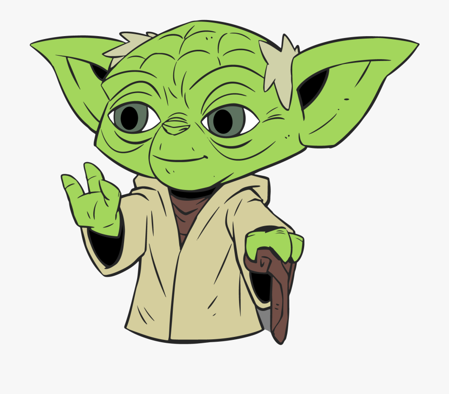 Starwars clipart yoda. Pin trading program star