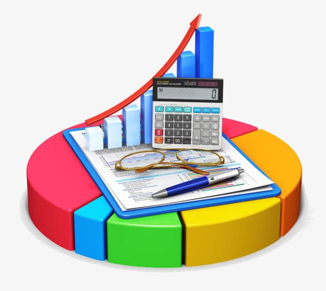 Stock quotes compared stocks. Statistics clipart