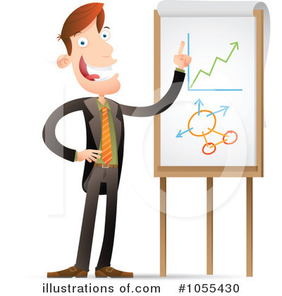 Statistics clipart. Illustration by qiun royaltyfree