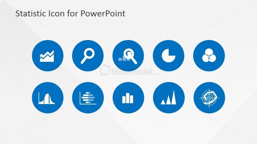 Statistics clipart. Powerpoint template slidemodel