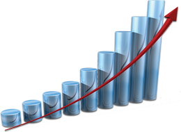 Statistics clipart. Download business growth chart