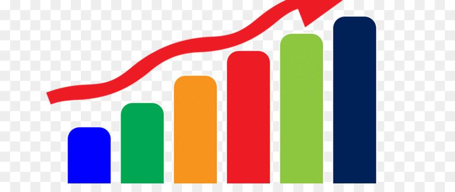 Graph clipart. Bar chart statistics of