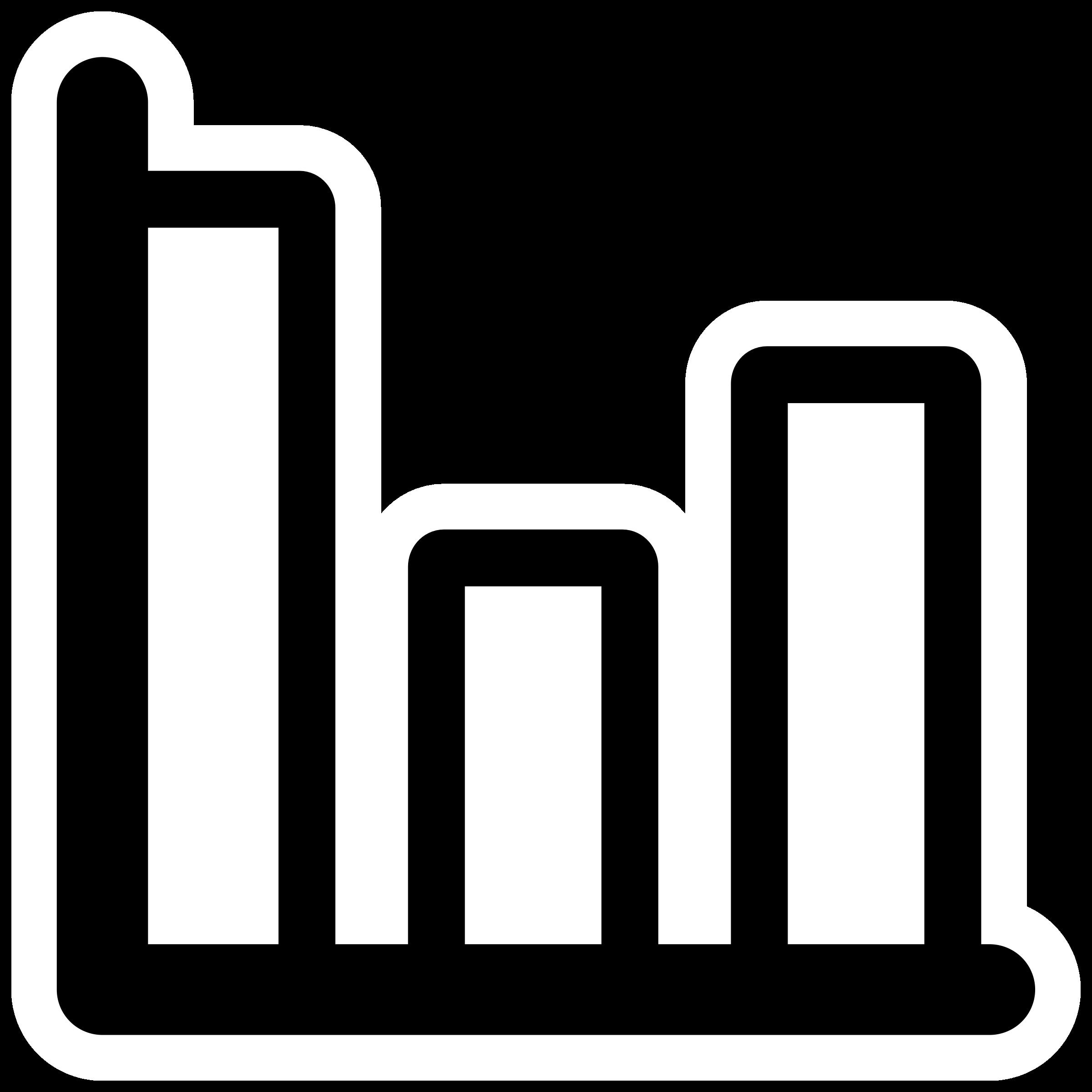 Statistics clipart. Mono big image png