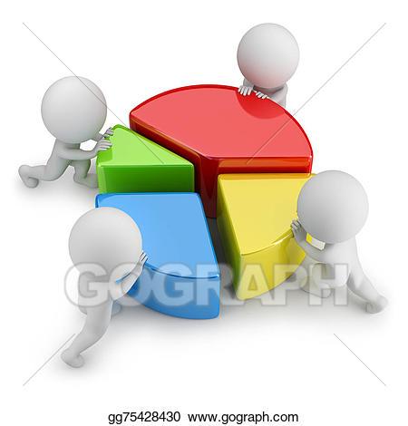 Stock illustrations d small. Statistics clipart complicated