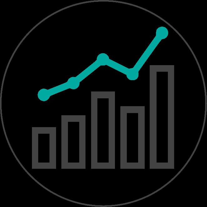 Kanalyst statistical visualization custom. Statistics clipart data analysis interpretation