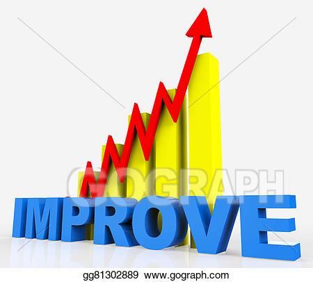 Statistics clipart improvment. Clip art improve graph