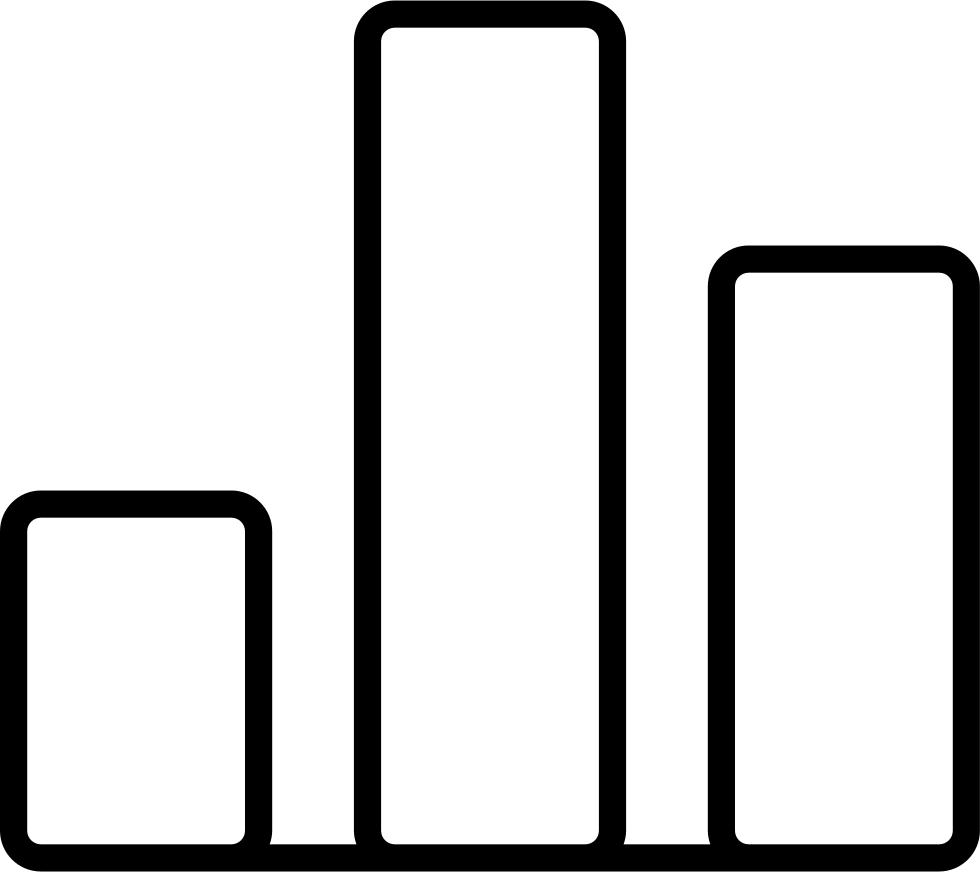 Bargraph bars chart stats. Statistics clipart performance graph