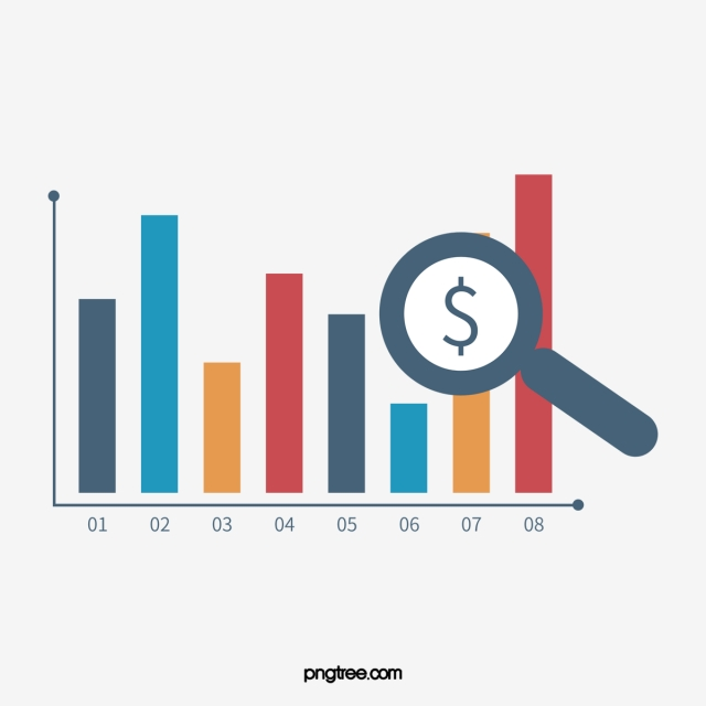 Of bar graph vector. Statistics clipart profit