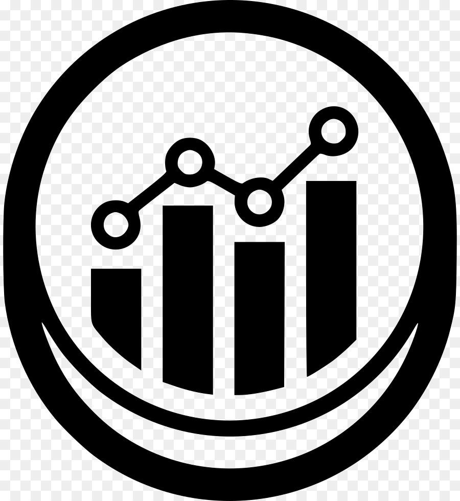 Statistics clipart statistics symbol. White circle chart text
