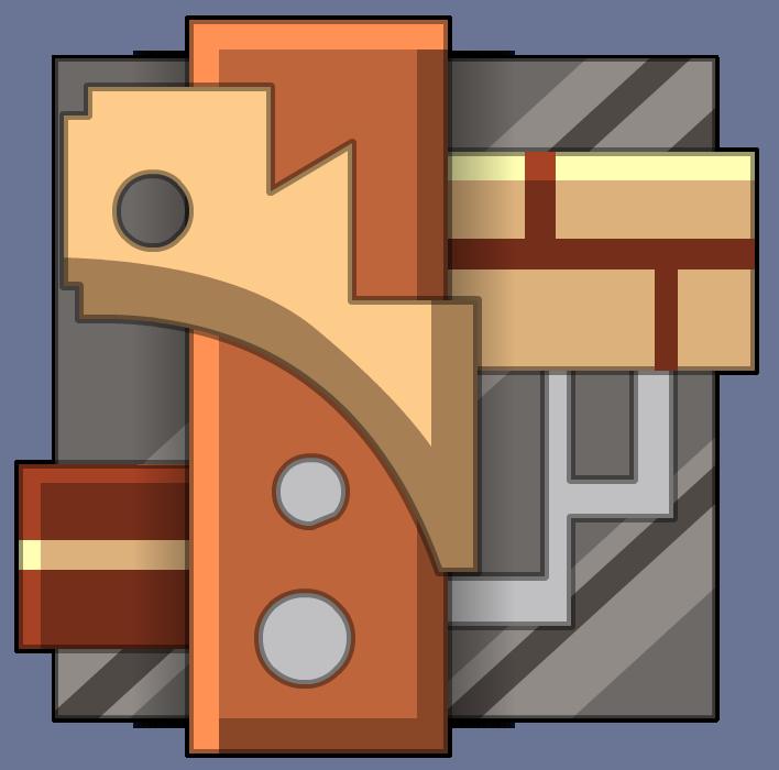 Steampunk clipart architecture. File petite caisse render