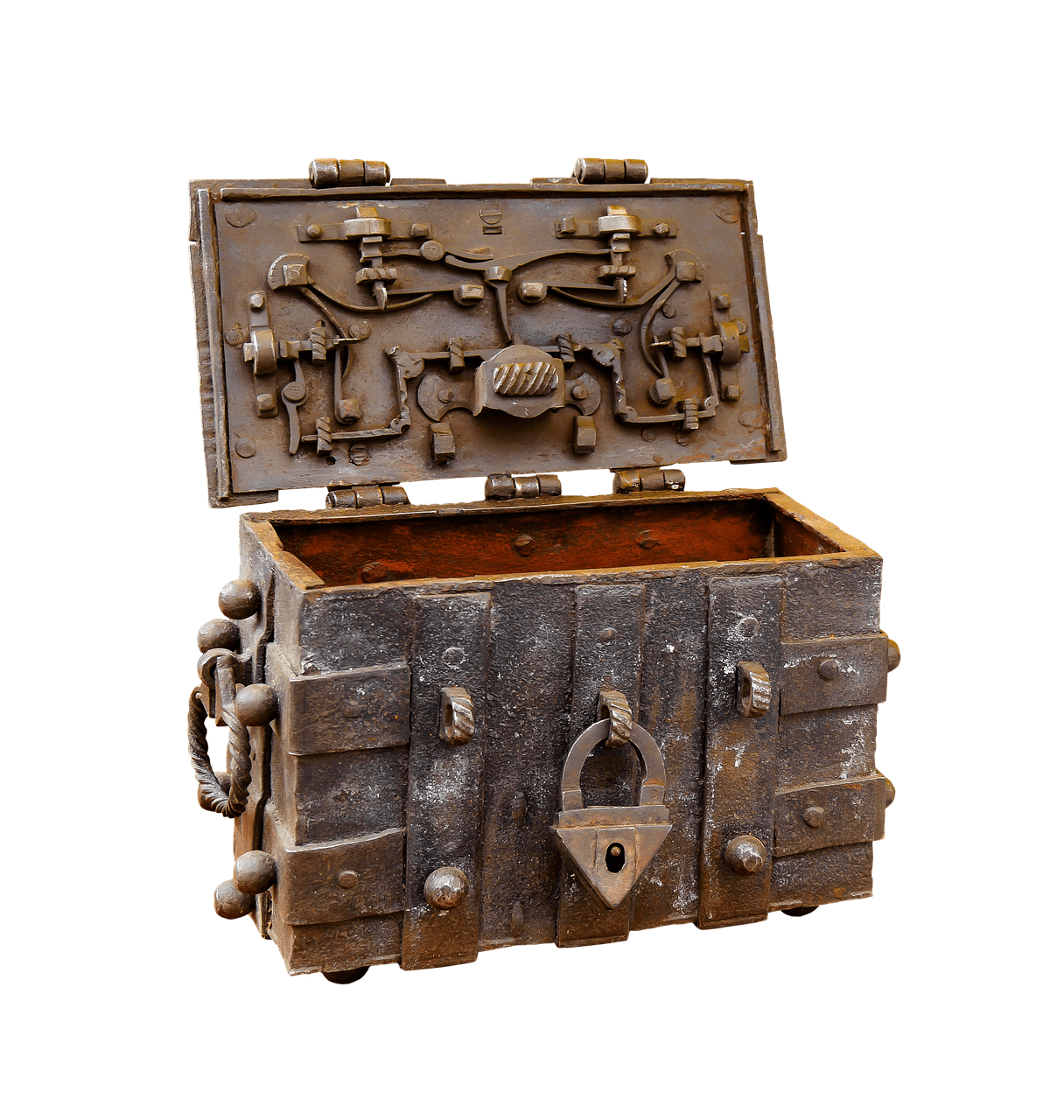 Treasure clipart locked box. Chest steampunk transparent png