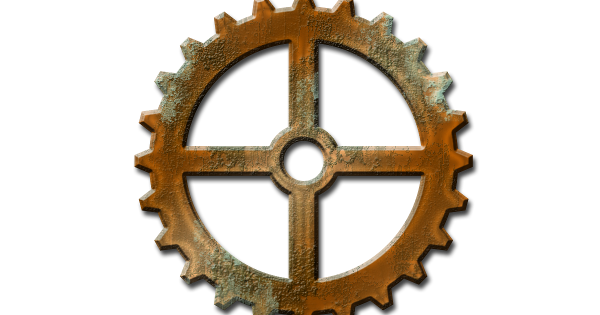 Clip art transprent png. Steampunk clipart bicycle gear