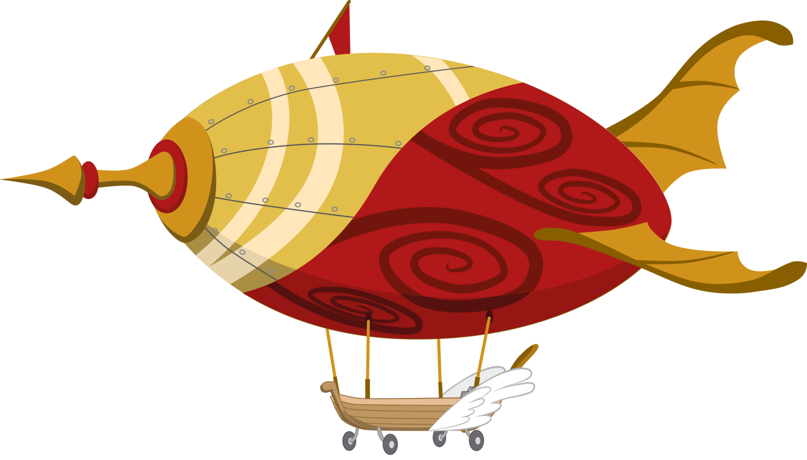 Steampunk clipart blimp. Image result for mlp