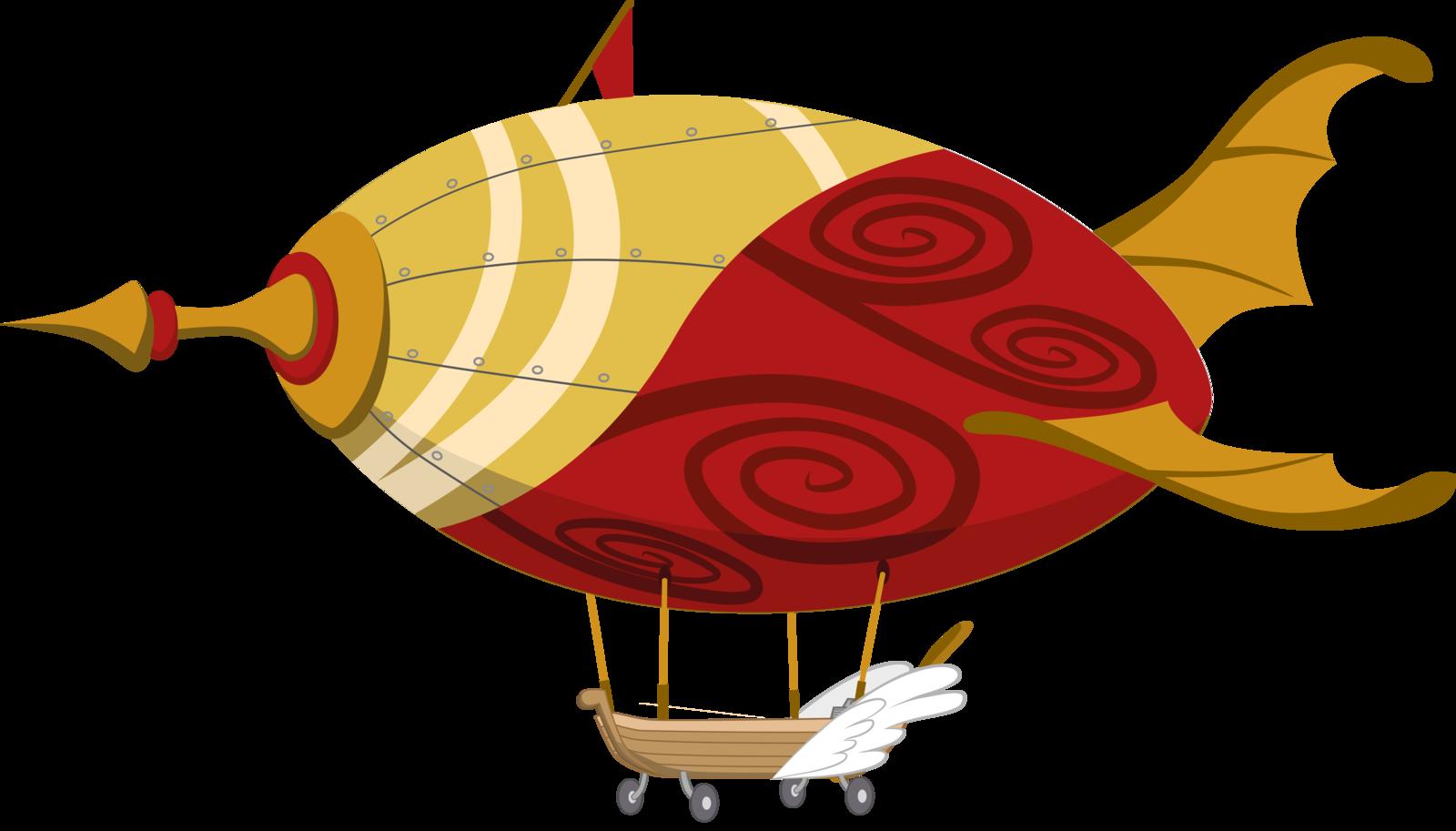 Airship Png Clipart - Transparent Steampunk Airship Png, Png Download -  kindpng