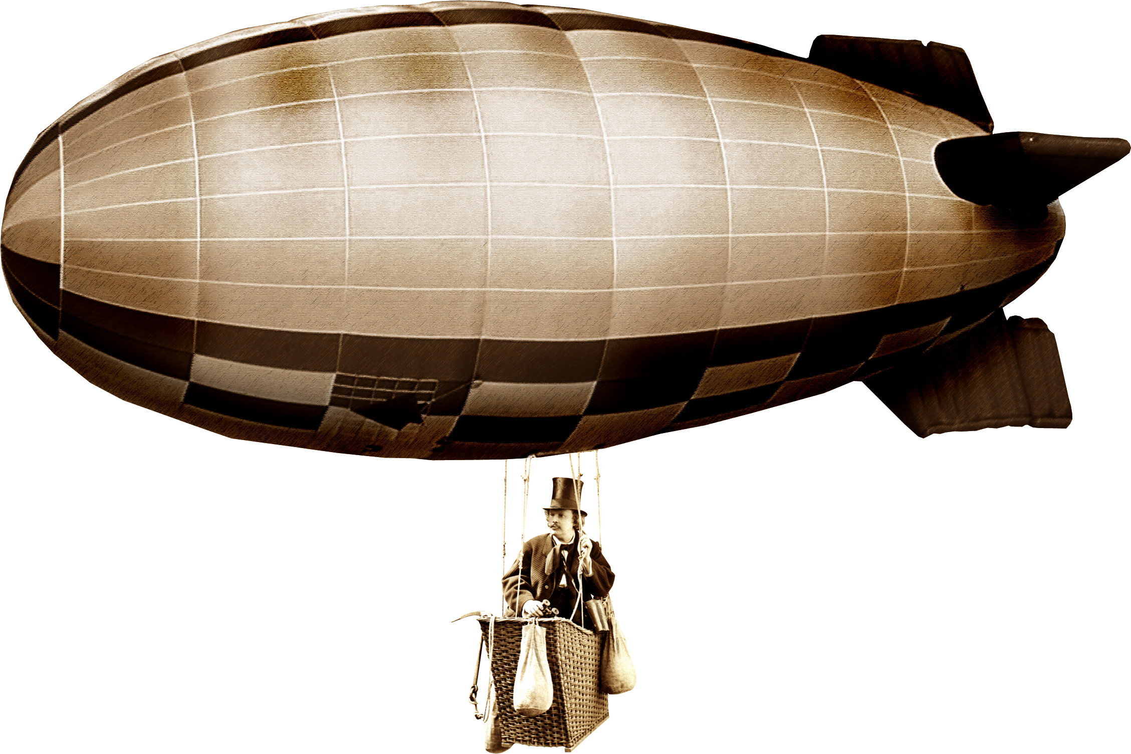Airship transparent background png. Steampunk clipart blimp