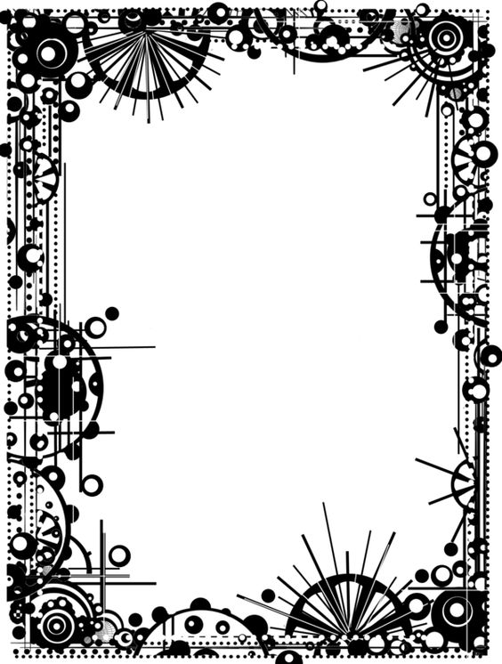 Steampunk clipart borders. Free border png download