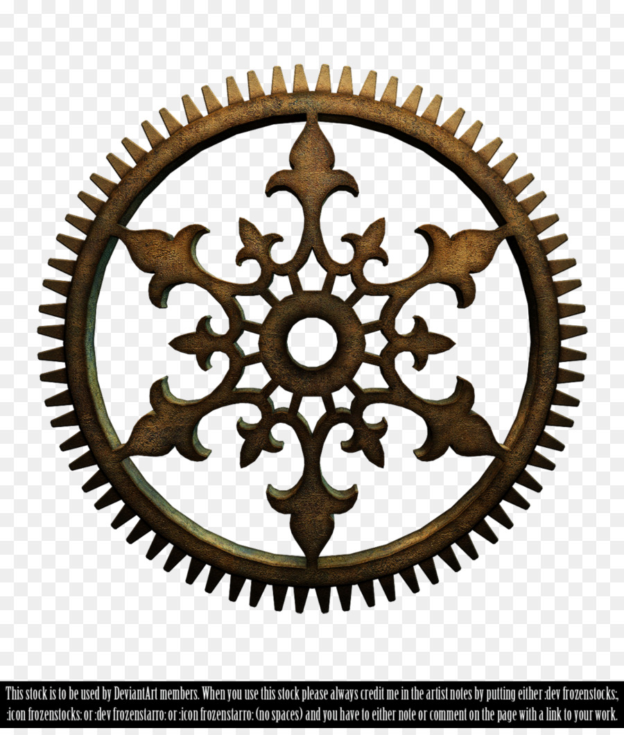 Steampunk clipart chain sprocket. Gear background png download