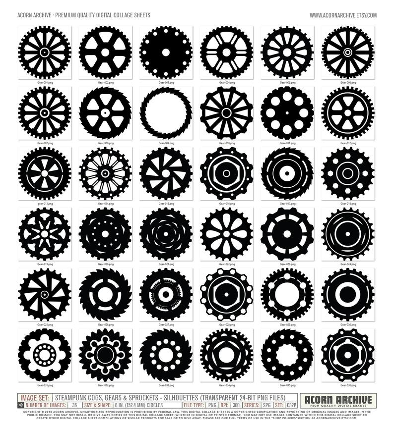 images png cogs. Steampunk clipart chain sprocket