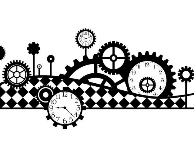Steampunk clipart chain sprocket. Free download clip art