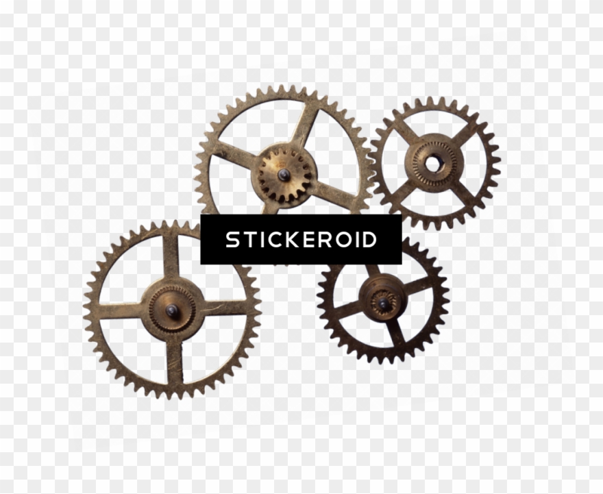 Gear pinclipart . Steampunk clipart chain sprocket