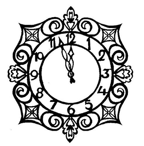 Inkspired musings more glamour. Steampunk clipart cinderella clock