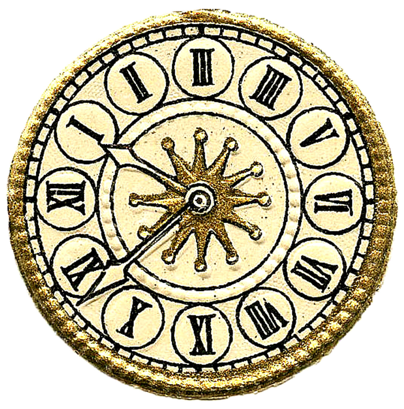 images print your. Steampunk clipart clock face