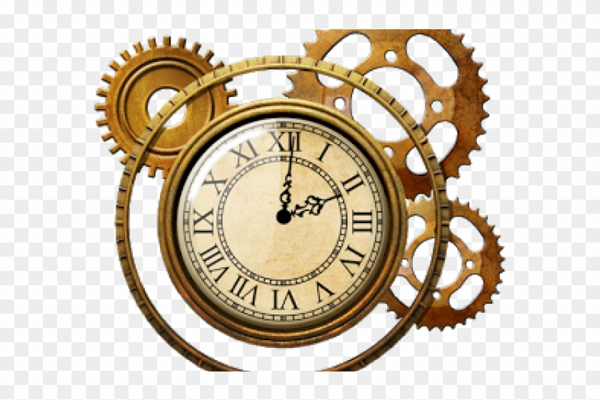 Steampunk clipart clock face. Png