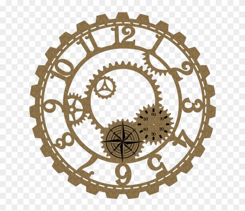 Hd png . Steampunk clipart clock face